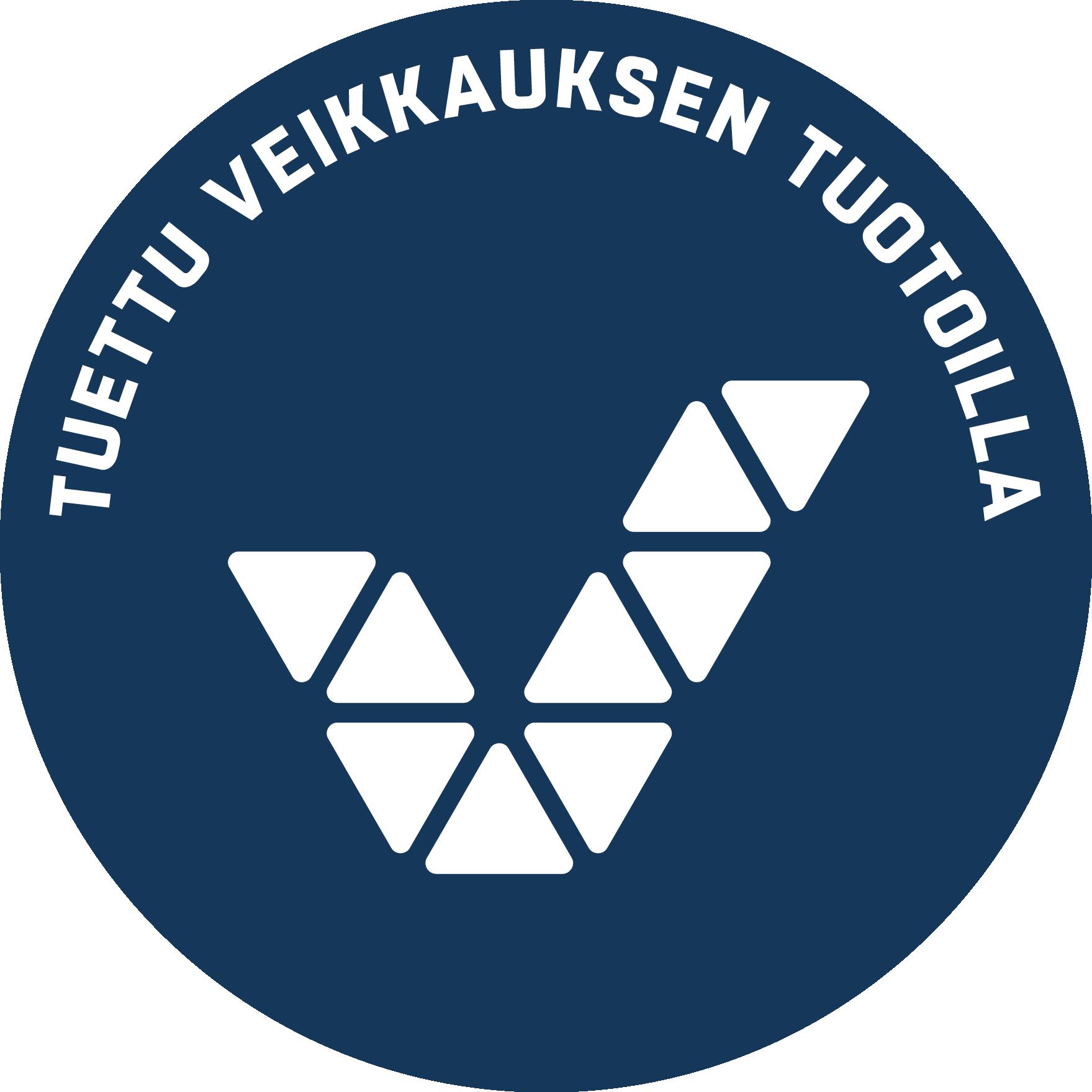 Kuva Tuettu Veikkauksen tuotoilla -logosta
