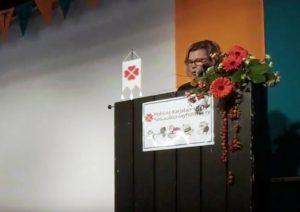 Eeva Jokisen puheenvuoro -video