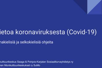 Omakielistä tietoa korona-viruksesta