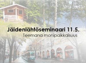 Perinteinen Jäidenlähtöseminaari 11.5.