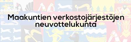 Maakuntien verkostojärjestöjen neuvottelukunta -logo